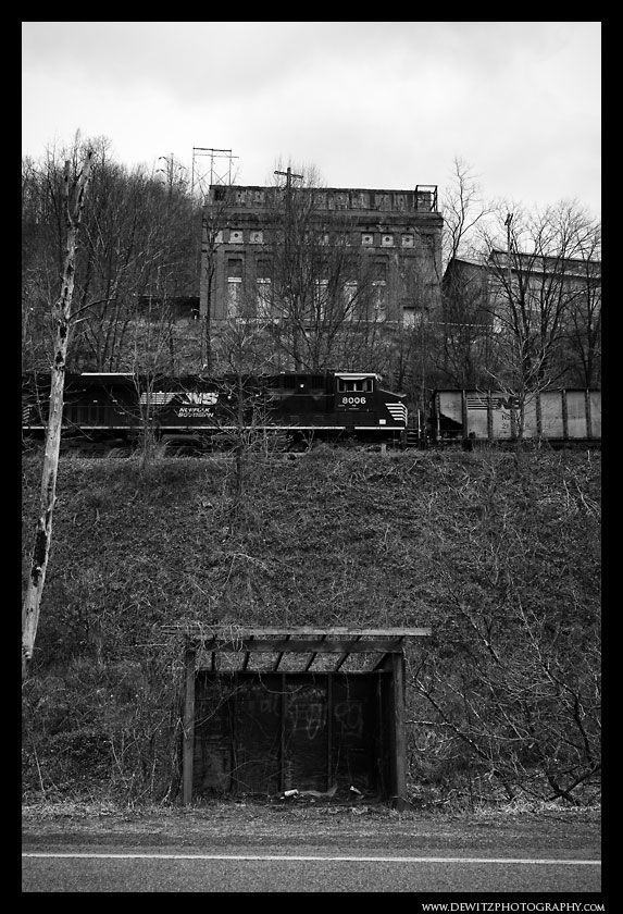 Abandoned Power Plant in Maybeury WV