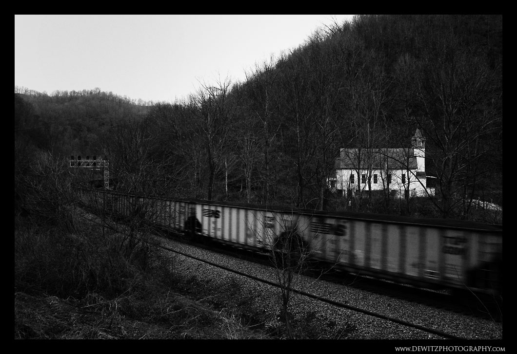 Coal Through Switchback West Virginia