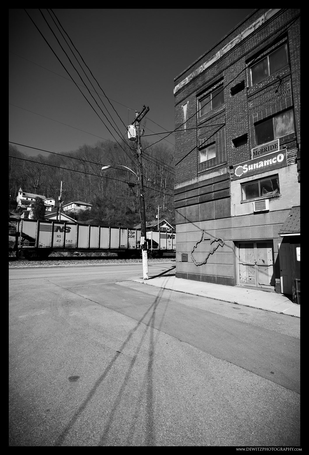 Downtown Iaeger West Virginia