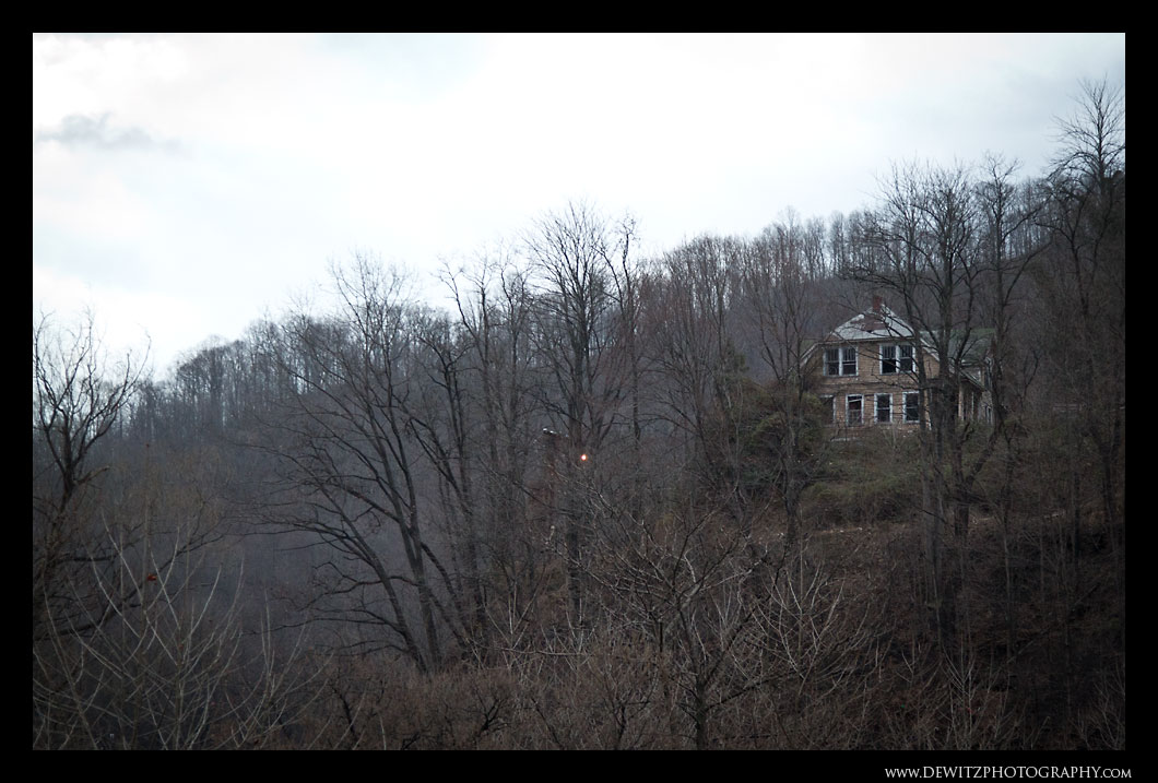 House on the Hill Overlooking Keystone