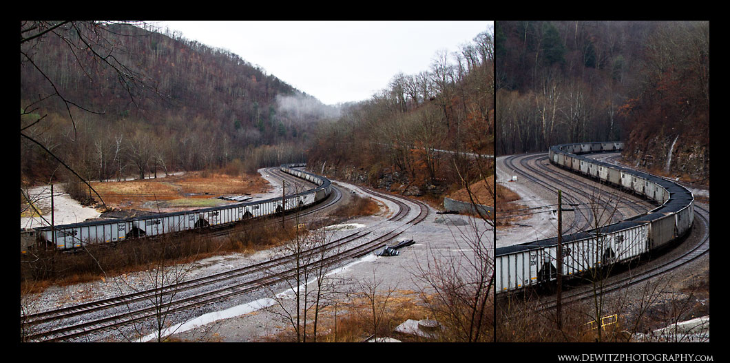 Loaded Coal Cars in Capels West Virginia