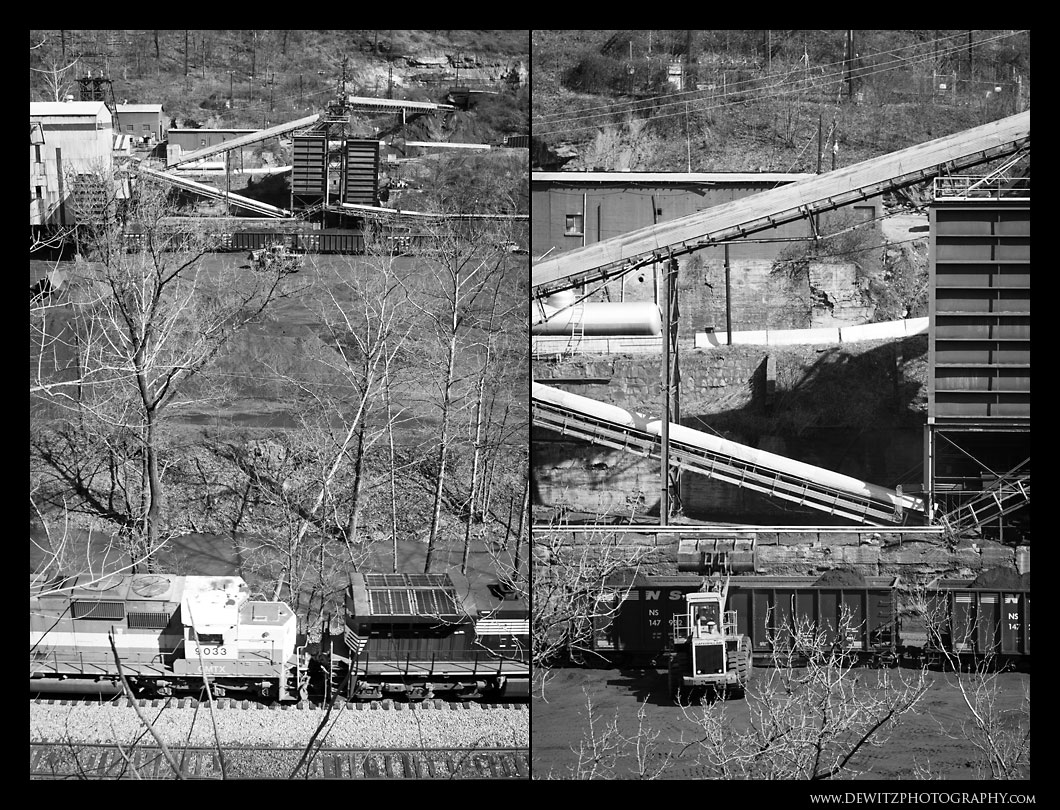Loading Coal at Welch West Virginia
