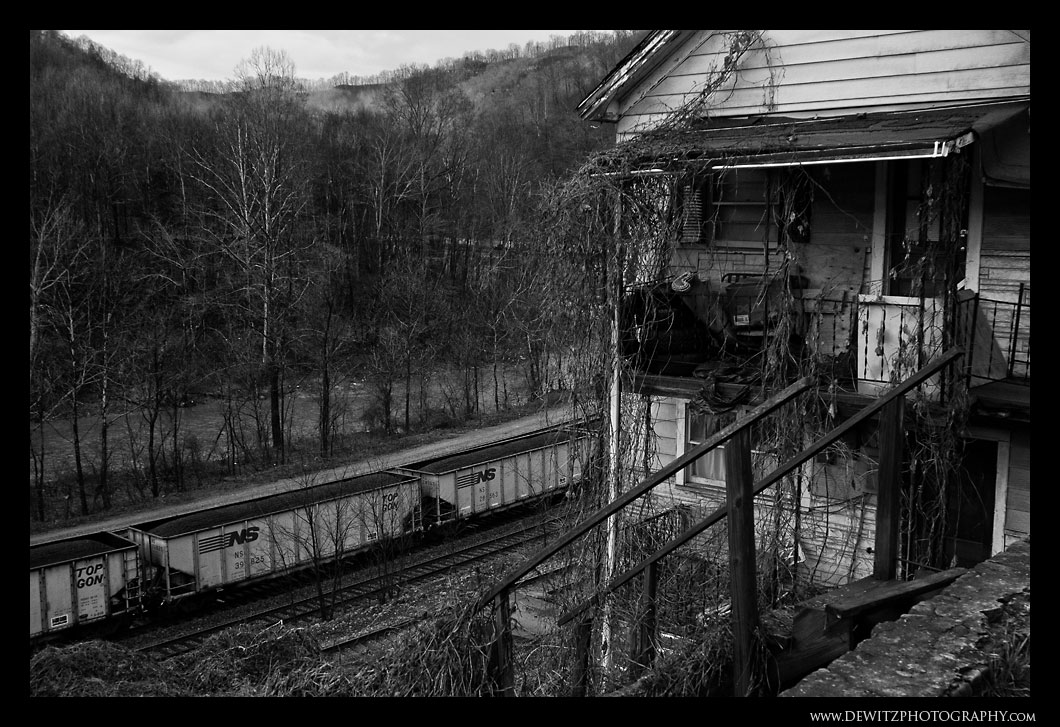Loads of Coal Through the Wooded Hills of West Virginia