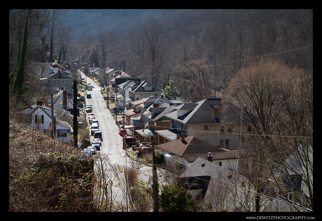 Looking Over Welch WV