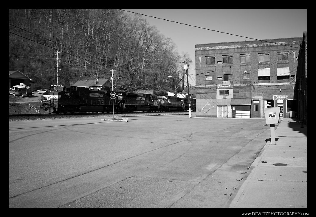 Norfolk Southern in Iaeger WV