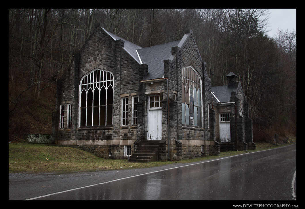 Old Church in Pocohontas