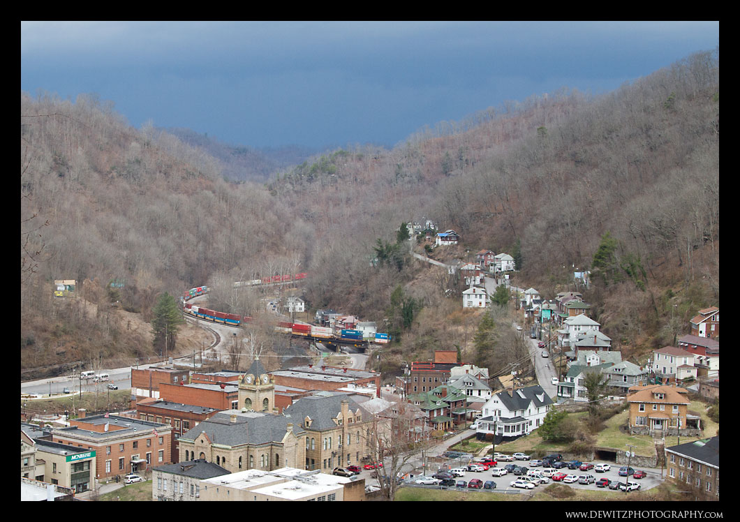 Storm Over Welch WV