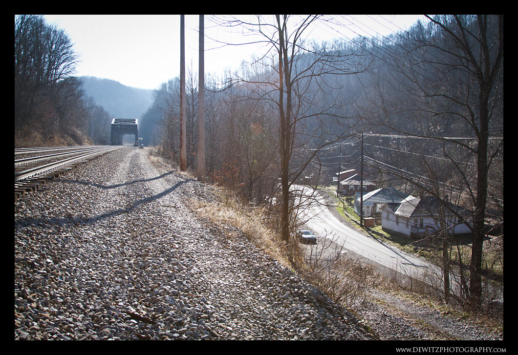 The View of Maybeury West Virginia
