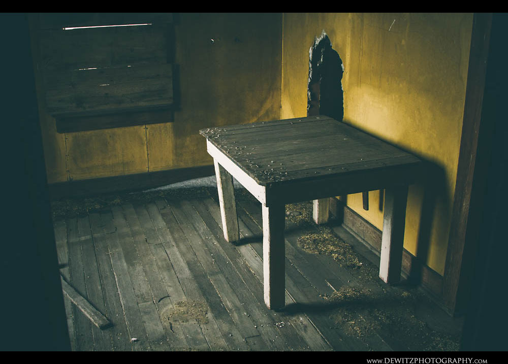 113Old Wooden Table