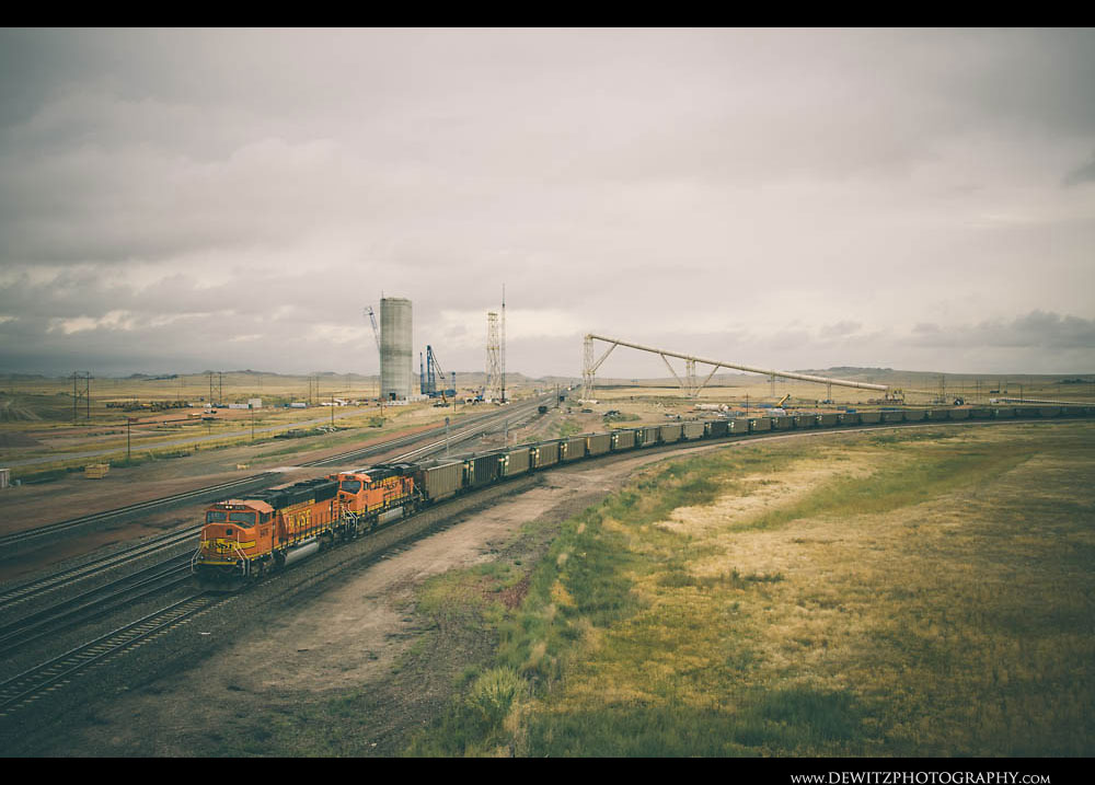 153BNSF Train at Reno Junction