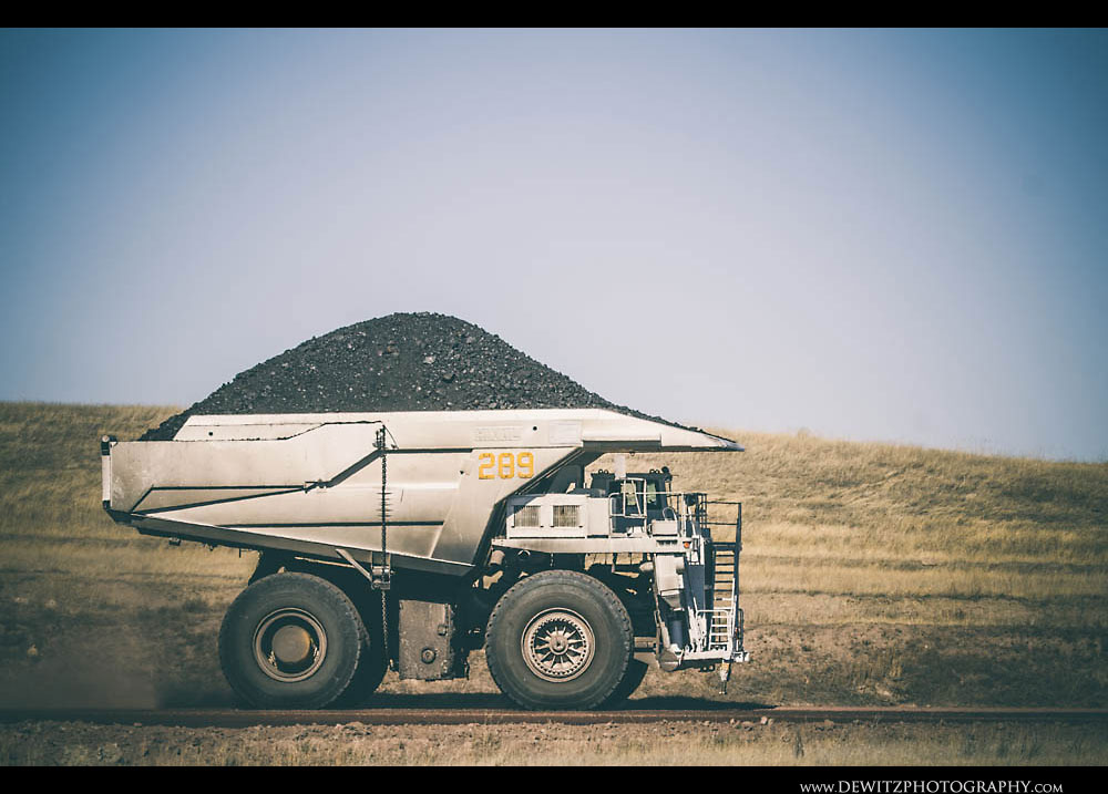 202White Coal Haul Truck 289