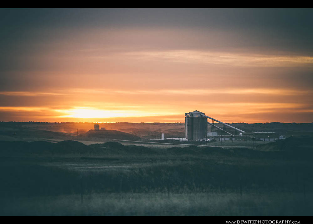 213Sunrises Over Wyoming Coal Mine