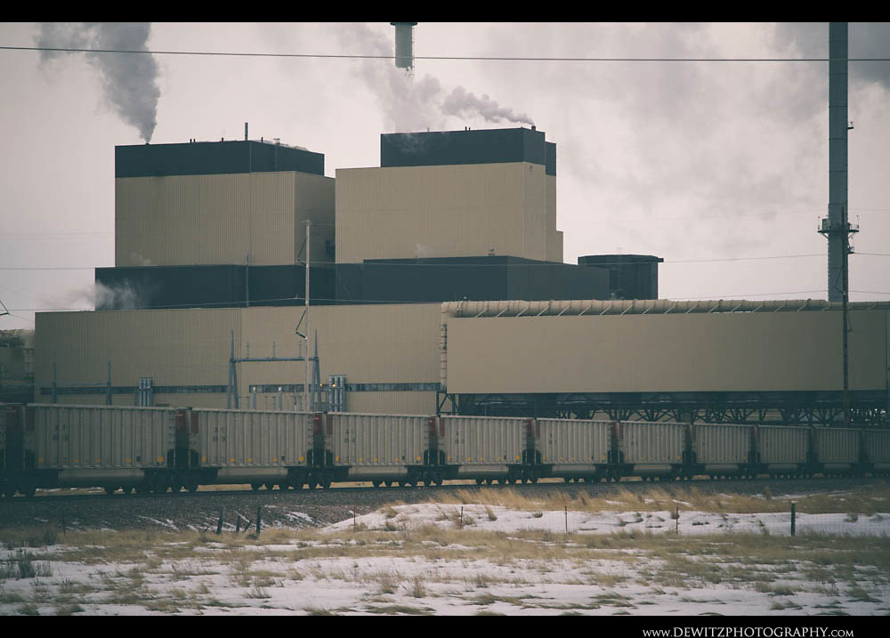 236Coal Hoppers by Wyodak Power Plant