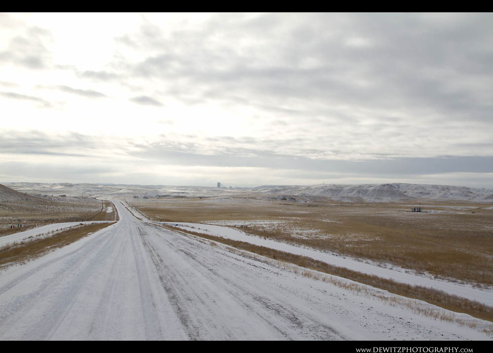273Wide Open Snow Covered Powder river Basin