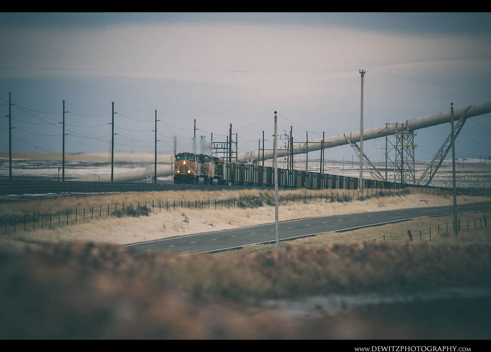 276Train Poles Conveyor