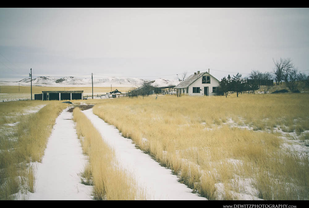 27Abandoned Wyoming Farm
