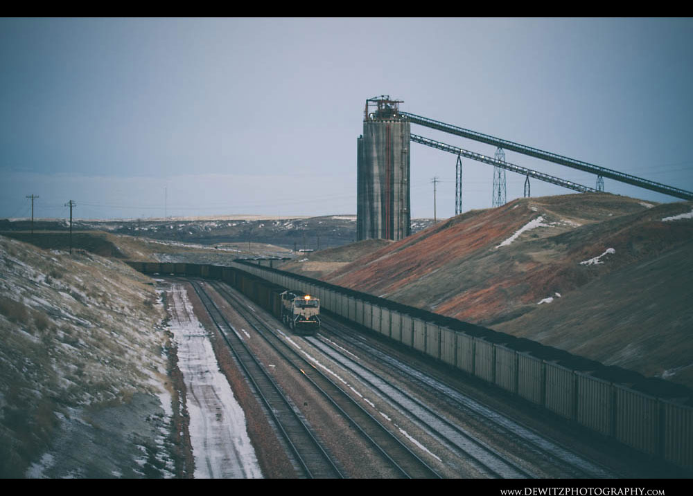 302Coal Trains at Antelope Mine