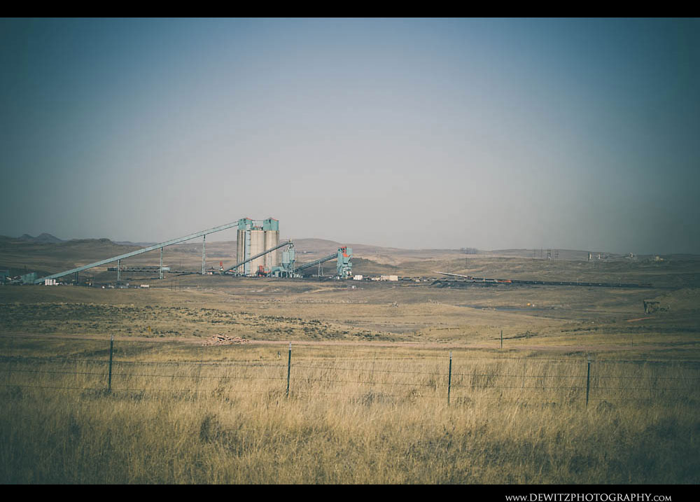 306Coal Mine South of Montana Border