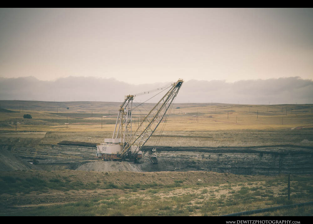 362Huge Coal Dragline