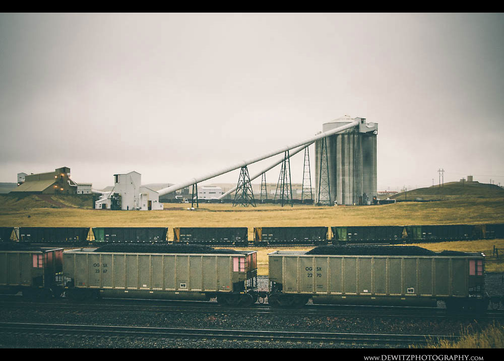 42Cordero Mine and Coal Cars