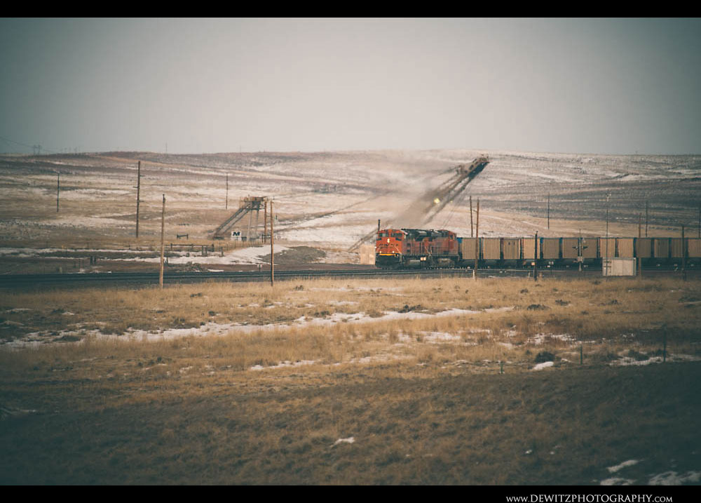 84Coal Train and Dragline