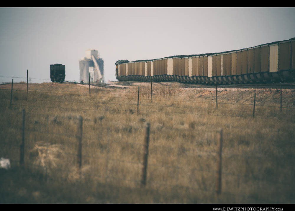 8Union Pacific Coal Train on Reno Sub and Black Thunder West Loadout