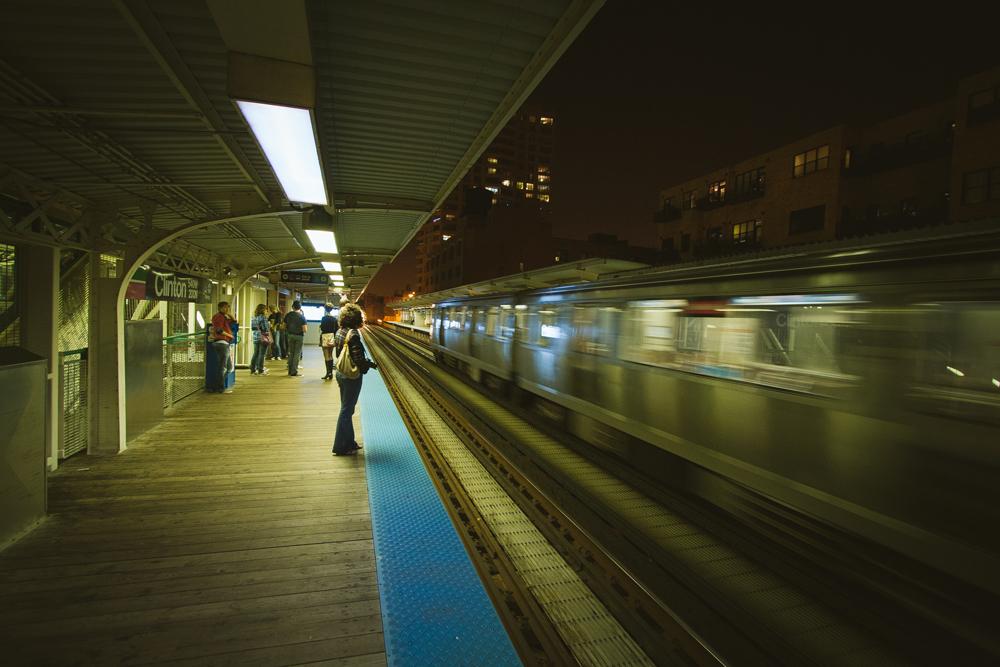 27Chicago Transit Authority L Train008