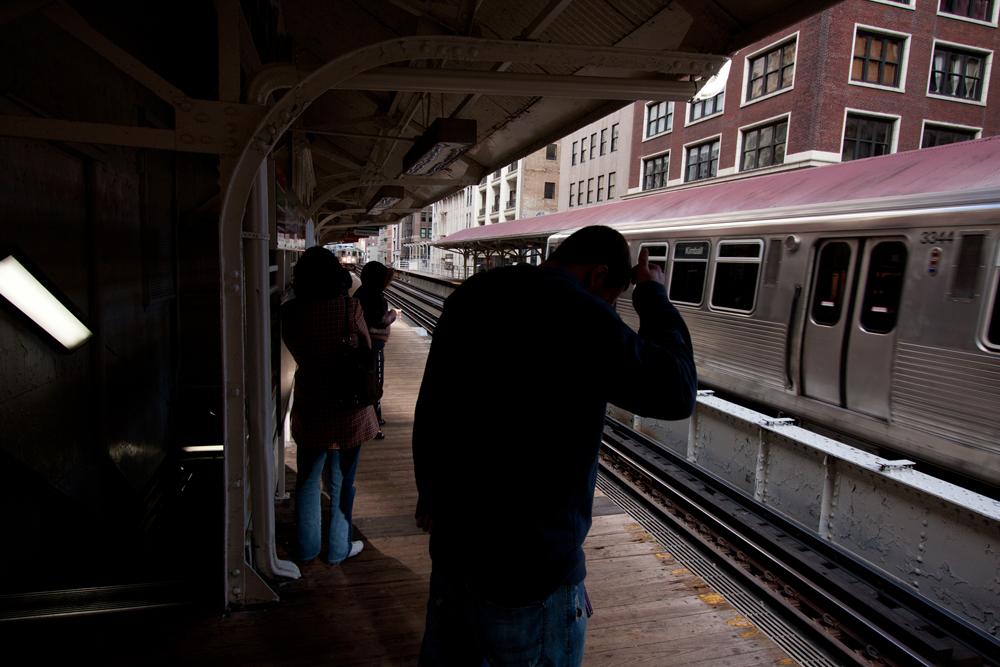 72Chicago Transit Authority L Train121