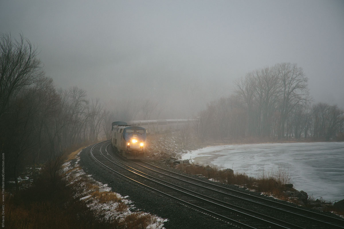 Amtrak Empire Builder #8 | Maple Springs, Minn.