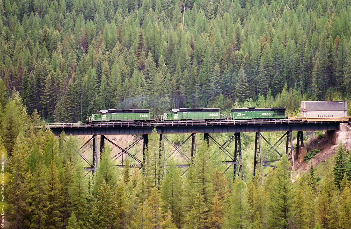 Burlington Northern Glacier National Park