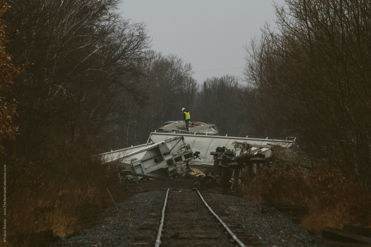 Wisconsin Northern Railroad Sand Train Derailment in West Central Wisconsin
