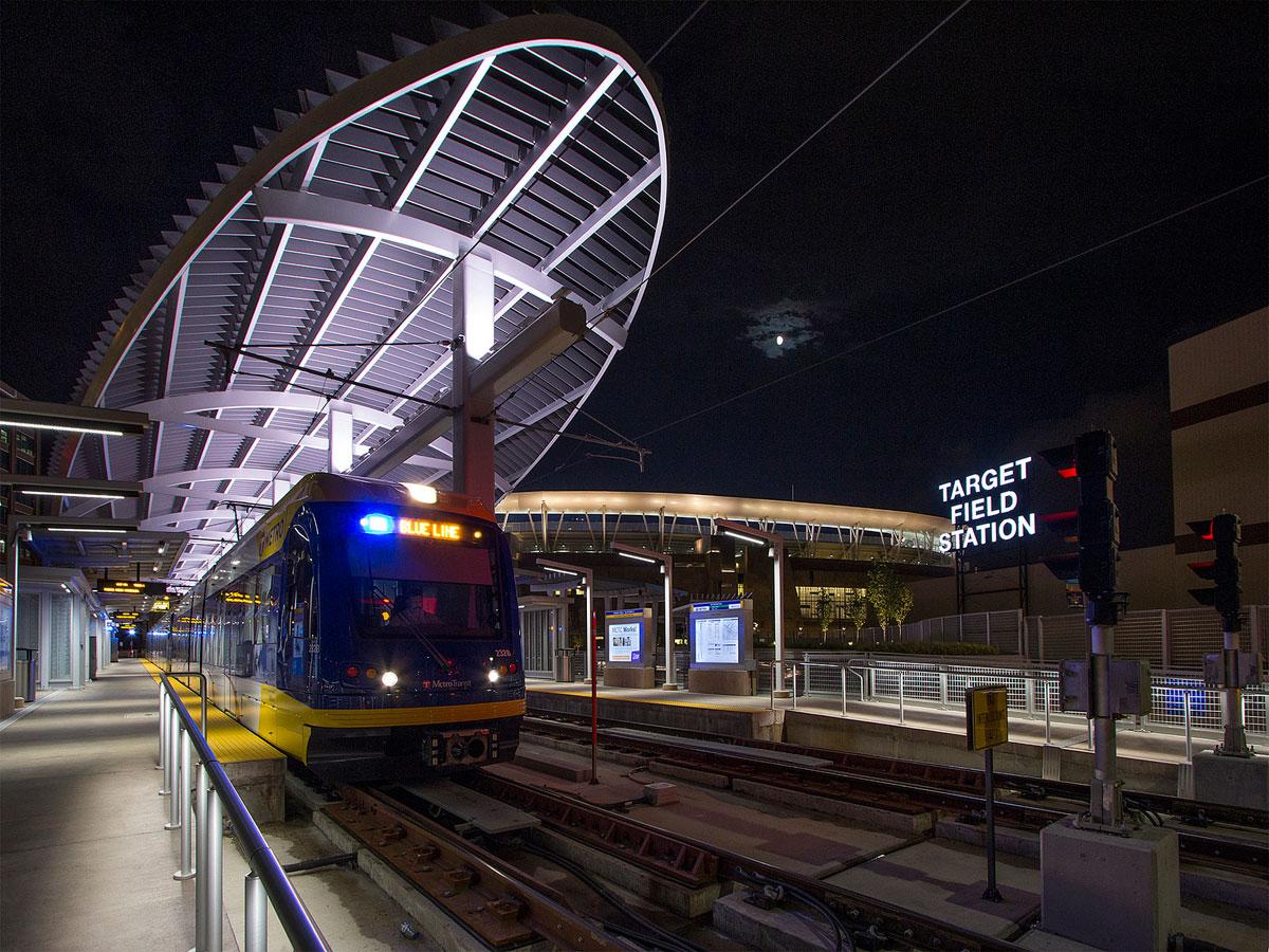 Nick Benson Target Field Transit Station