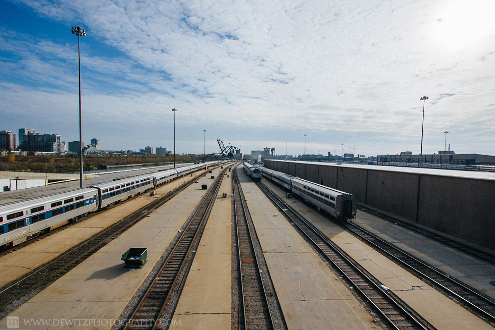 The Infrastructure that Feeds Chicago Union Station - Amtrak Passenger Car and Train Yard