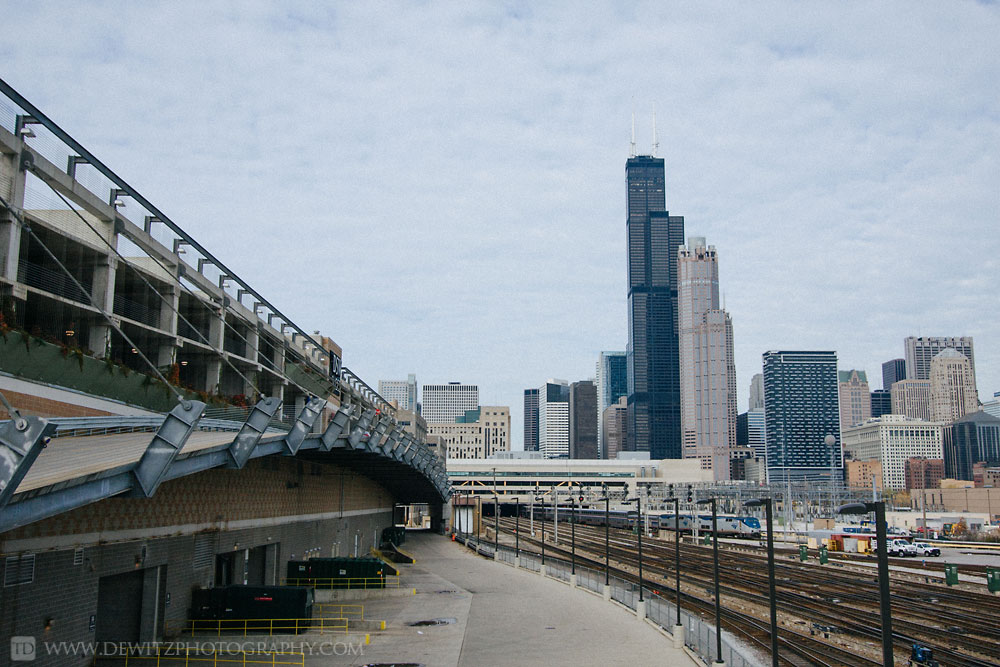 The Infrastructure that Feeds Chicago Union Station -  Amtrak Under the Sears Tower
