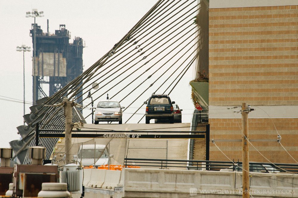 The Infrastructure that Feeds Chicago Union Station - Suspended Road and Railroad Lift Bridge