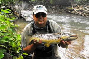 Elkhorn Creek Trout Fishing