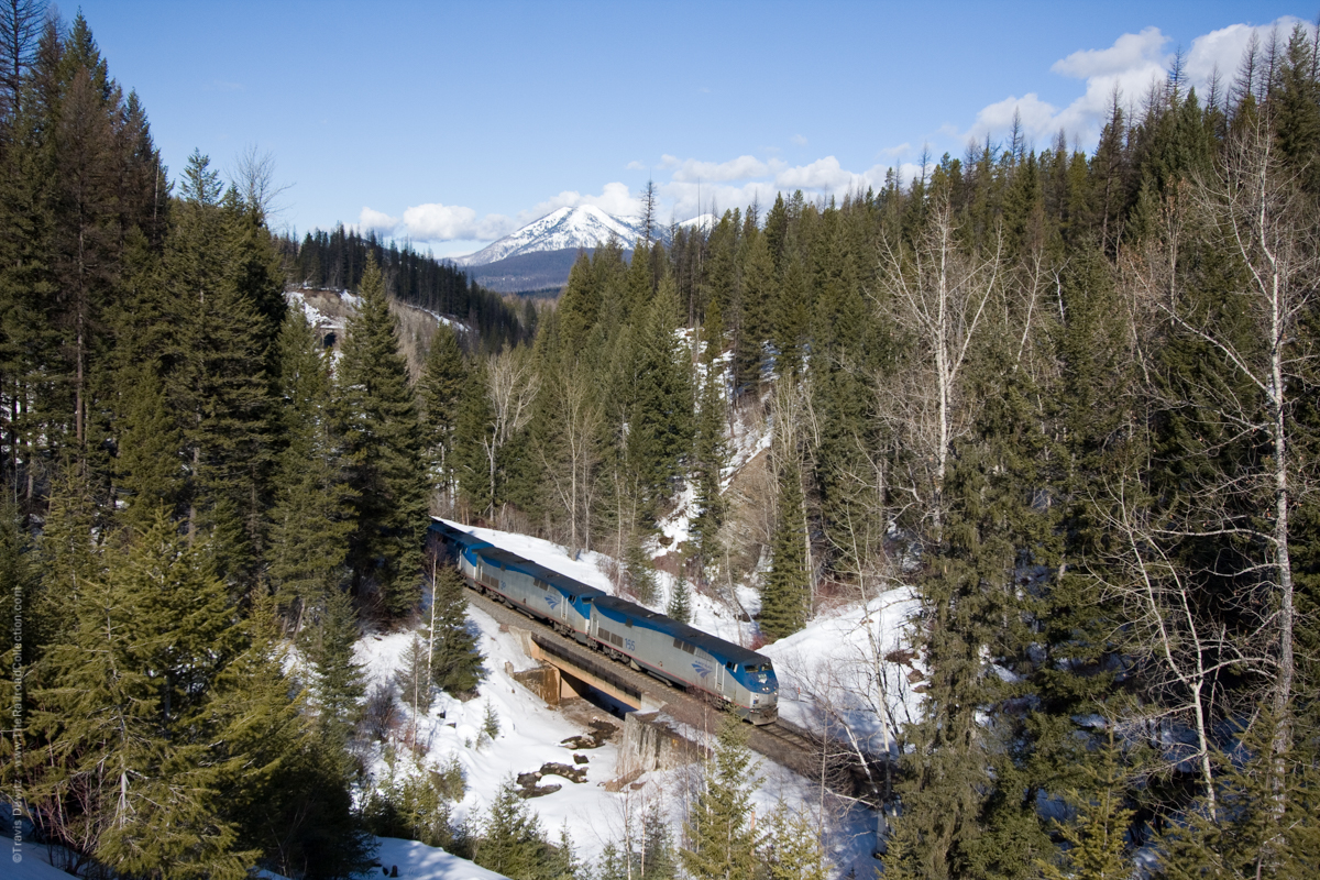 Amtrak - Paola, MT