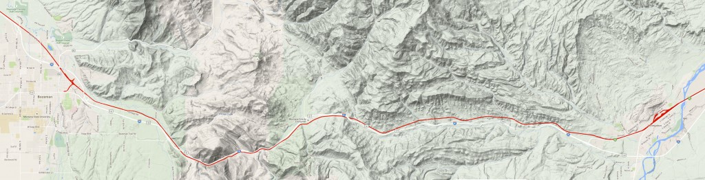 Montana Rail Link Bozeman Pass