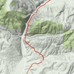 Montana Rail Link Evaro Hill Topo Map