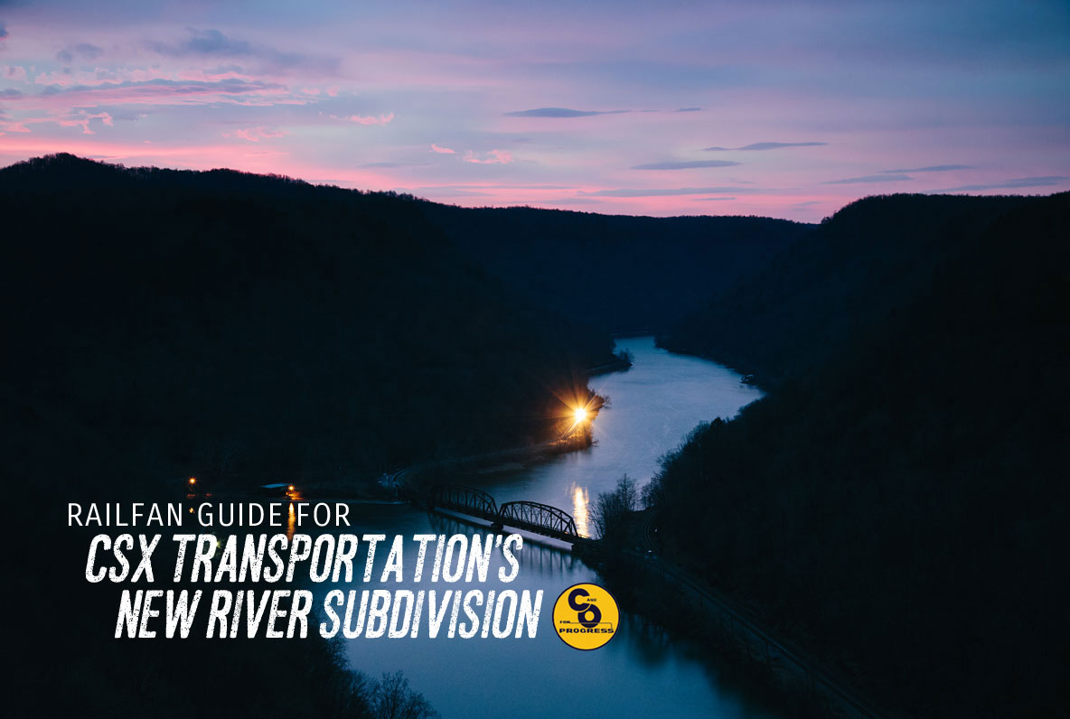 Railfan Guide for CSX New River Subdivision