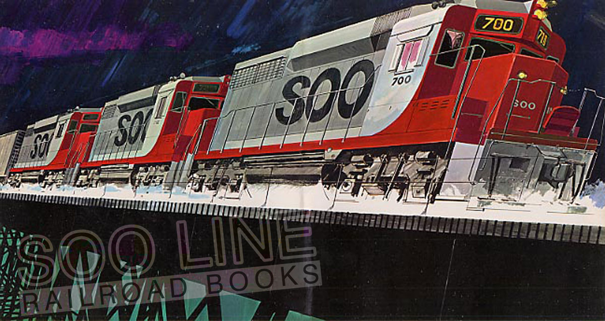 soo line railroad books