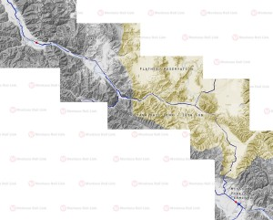 Montana Rail Link Yellowstone Pipeline Gas Train Map Small