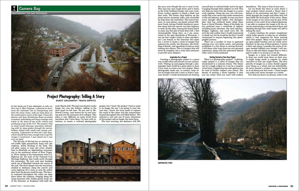 Railfan & Railroad Photography Project of West Virginia Coal